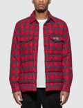 Moncler Genius Moncler Genius x Fragment Design Down Filled Shirt Plaid Jacket Picutre