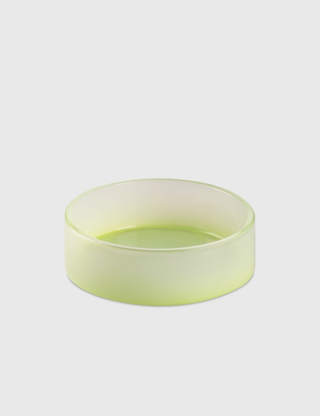 Crosby Studios Medium Green Gradient Bowl Green Unisex