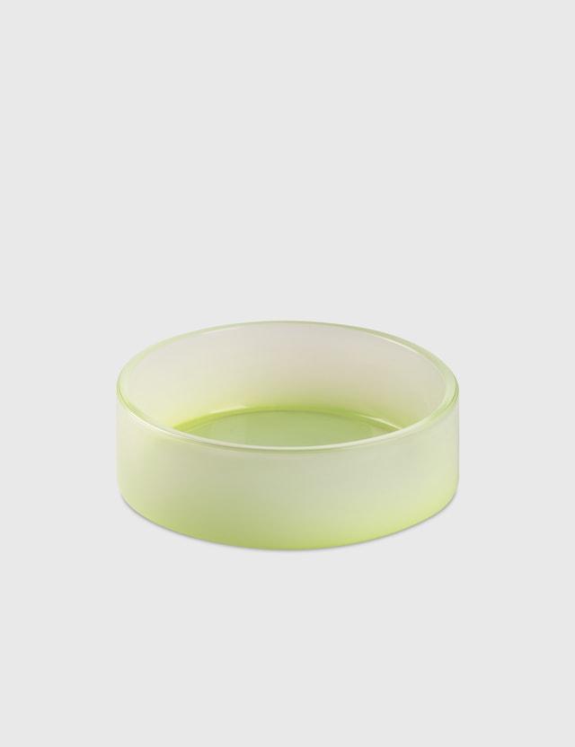 Crosby Studios Medium Green Gradient Bowl