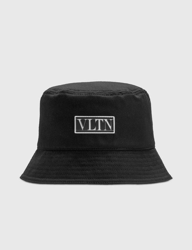 Valentino Valentino Garavani VLTN Cotton Bucket Hat