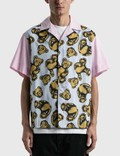 Palm Angels Allover Bears Bowling Shirt 사진