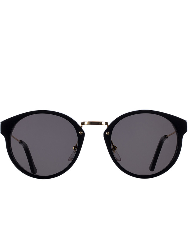 Super By Retrosuperfuture Panamá Black Sunglasses