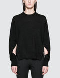 Alexander Wang.T Twisted Sleeve Sweater Picutre