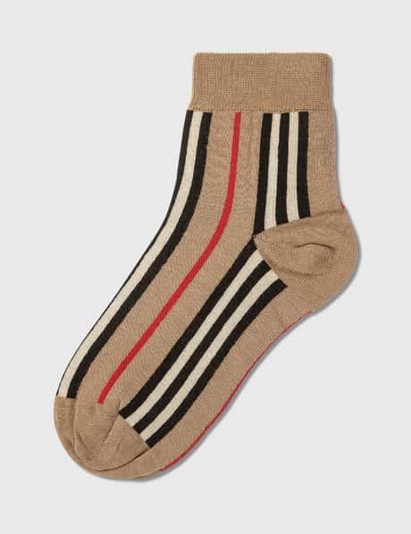 버버리 빈티지 스트라이프 양말 Burberry Vintage Stripe Short Socks
