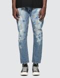 Denim By Vanquish & Fragment Paint Tapered Denim Jeans Picture