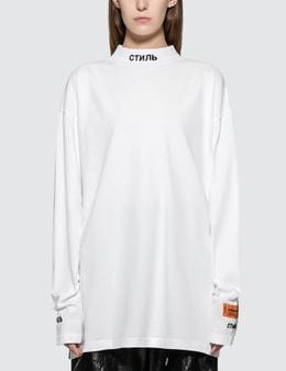 Heron Preston CTNMB Turtle-neck Long Sleeve T-Shirt