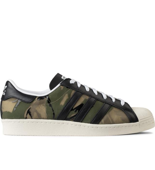the latest 83394 8bc8b Adidas Originals CLOT x adidas Originals Hemp 84-Lab Superstar 80s Sneakers
