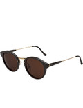 Super By Retrosuperfuture Panamá Black Sunglasses