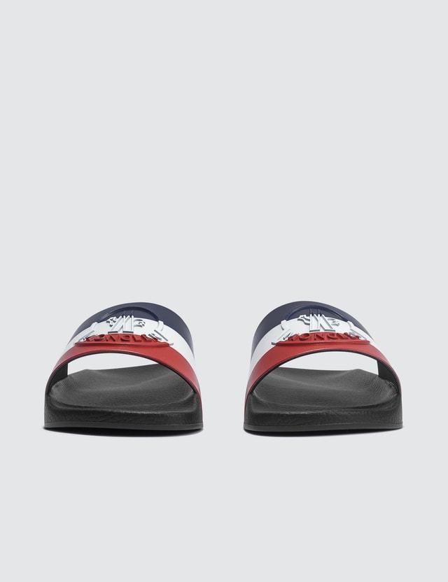Moncler Tricolor Logo Sandal