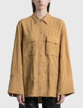 Nanushka Ifrah Crinkled Shirt Picture