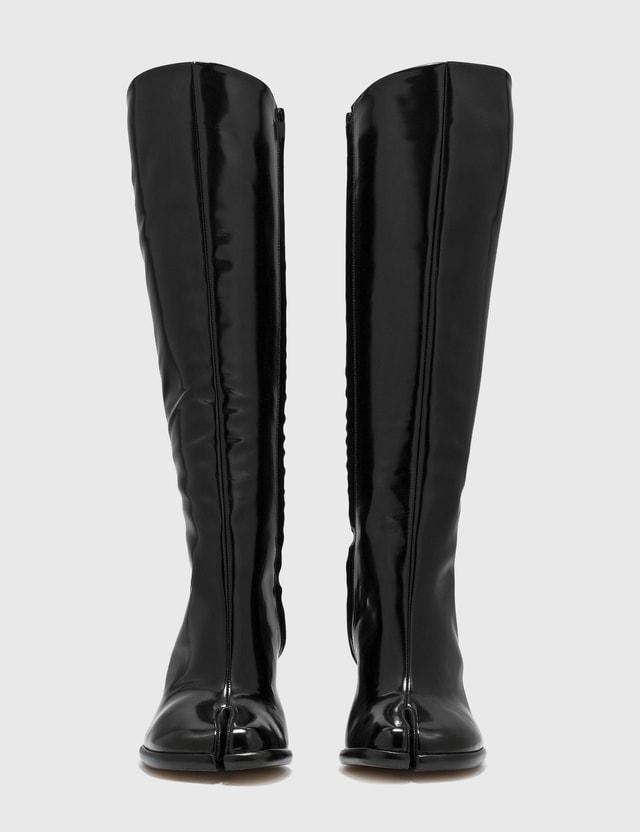 Maison Margiela Tabi Pull-on knee-high Boots Black Women