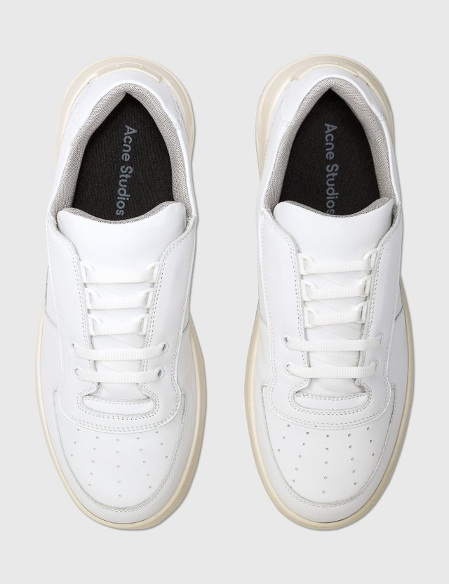 Acne Studios Perey Lace Up Sneakers White Men