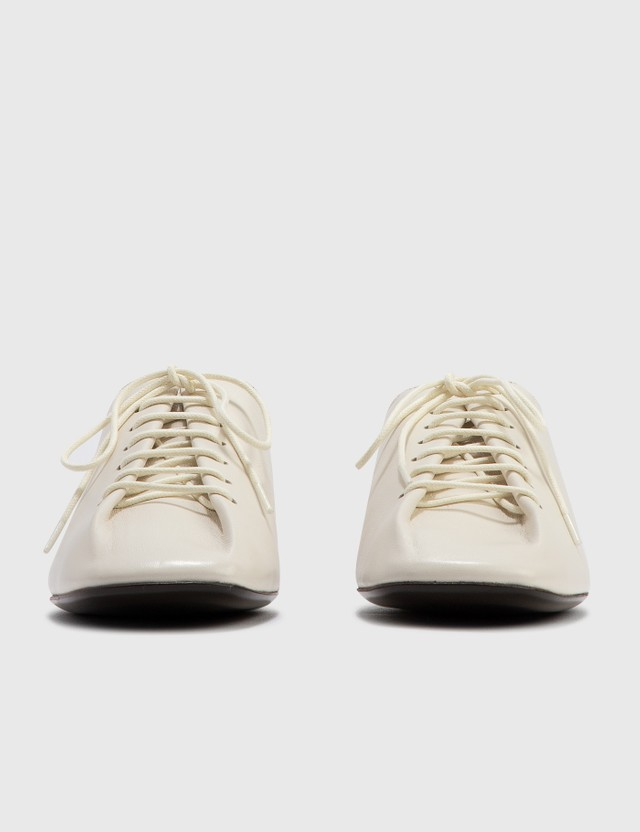 Lemaire Flat Derby White Women