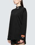 Heron Preston Turtleneck Fitted Long Sleeve T-shirt