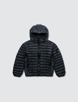 Stone Island Hooded Puffer Jacket (Infant)