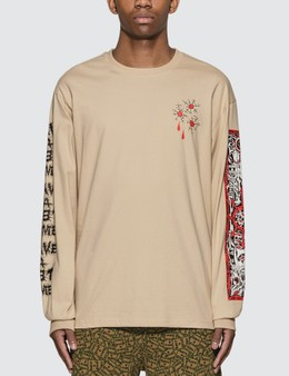 Have A Good Time Bullet Hole Long Sleeve T-Shirt
