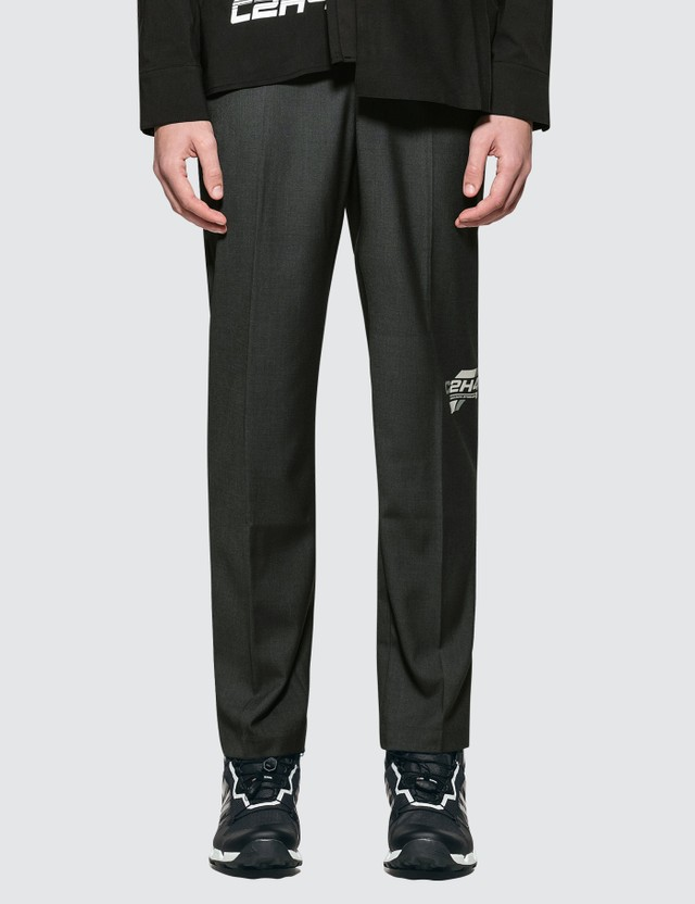 C2H4 Los Angeles Company Logo Tailor Trousers