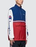Champion Reverse Weave Half Zip Jacket Red/blue/white Men