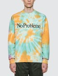 Aries No Problemo Tie Dye Sweatshirt Picture