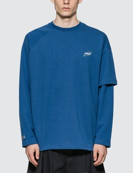 Ader Error Cosmos Logo Long Sleeve T-shirt