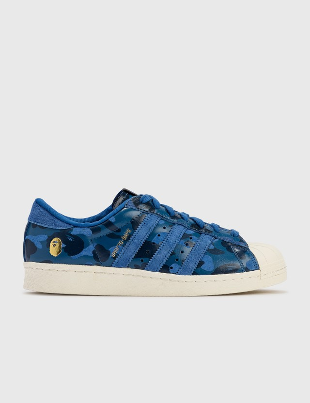 BAPE Bape X Undefeated Superstar 80v Blue Archives