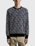 Moncler All-over Logo Knitted Sweater 사진
