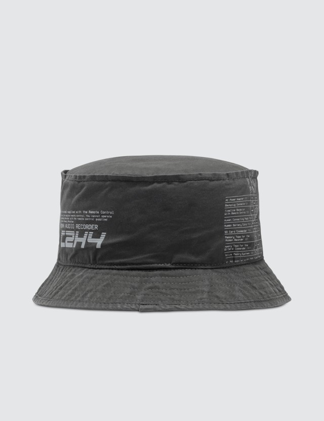 C2H4 Los Angeles Instruction Print Bucket Hat