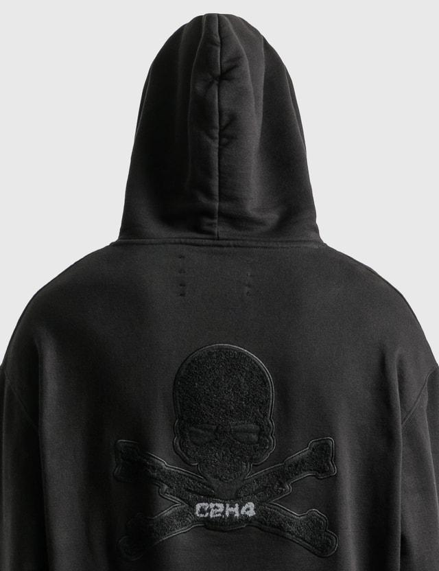 C2H4 Los Angeles C2H4® x Mastermind Japan Applique Logo Hoodie Black Men