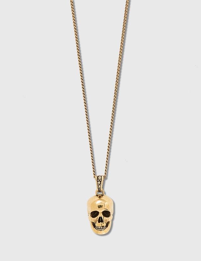 Alexander McQueen Double-Wrap Skull Choker