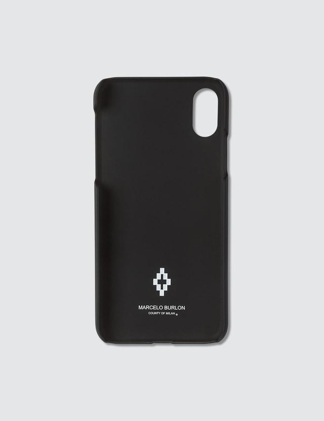 Marcelo Burlon Graphic Print iPhone XS Case