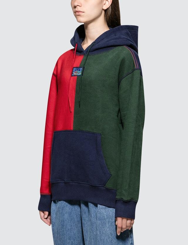 SJYP Multi Color Hoodie Navy Women