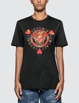 Versace Love Versace Medusa Motif T-shirt