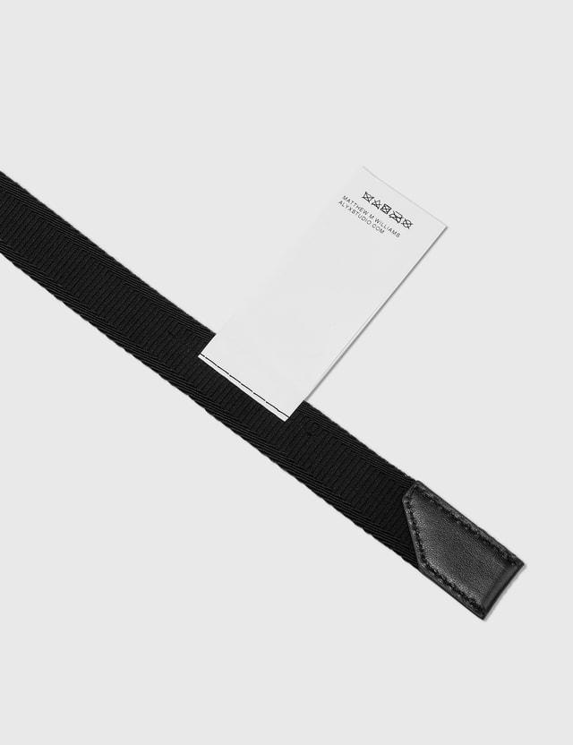 1017 ALYX 9SM Transparent Medium Rollercoaster Belt Black Women