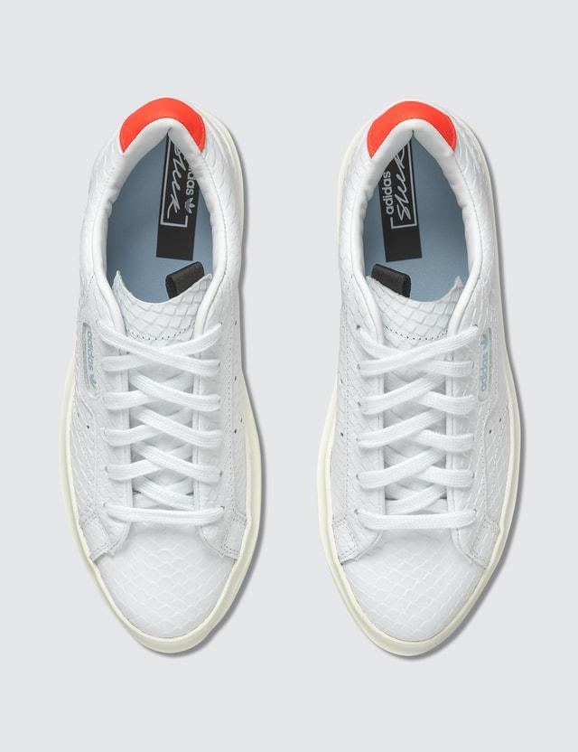 Adidas Originals Adidas Sleek Super W Ftwr White/ftwr White/solar Red Women