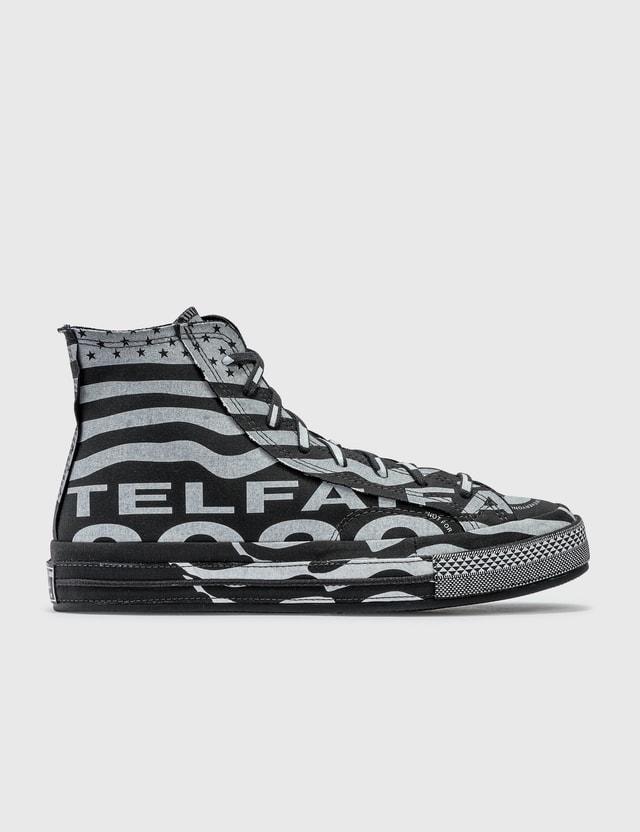 Converse Converse x TELFAR Chuck 70 Hi Black/white/black Women