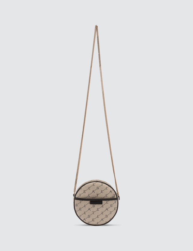 Stella McCartney Mini Round Monogram Bag