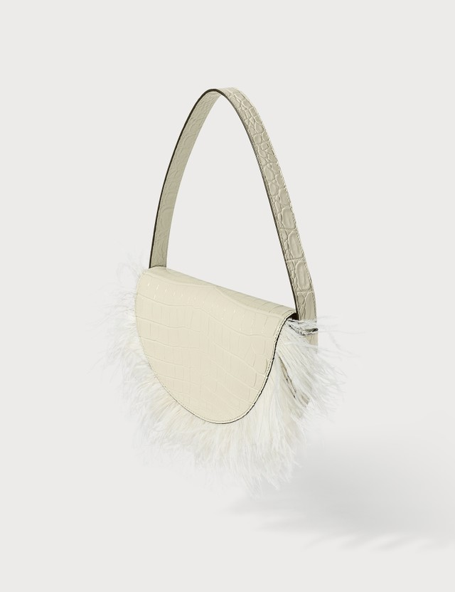 Staud Amal Feathered Bag