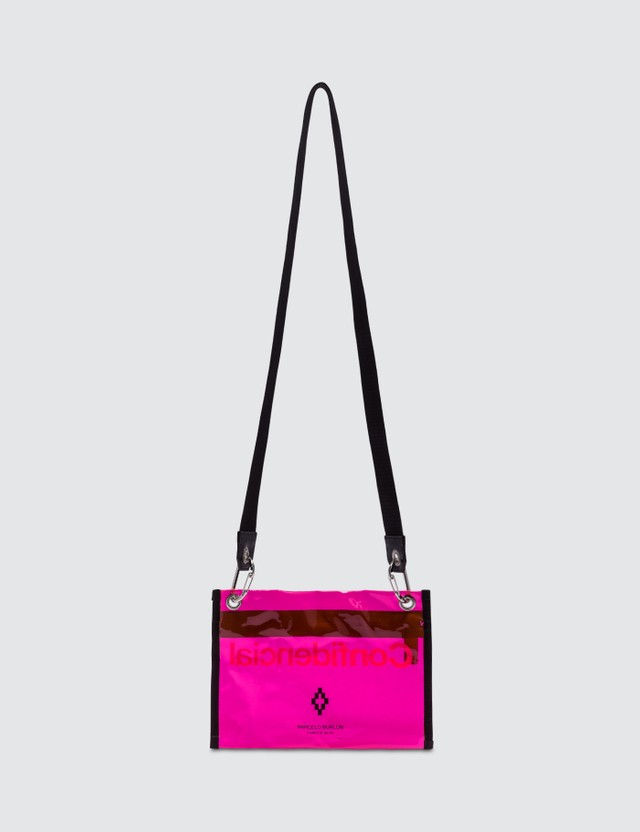 Marcelo Burlon Confidencial Crossbody Bag Fuxia Men