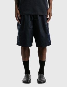 Emporio Armani Organic Cotton Drawstring Bermuda Shorts
