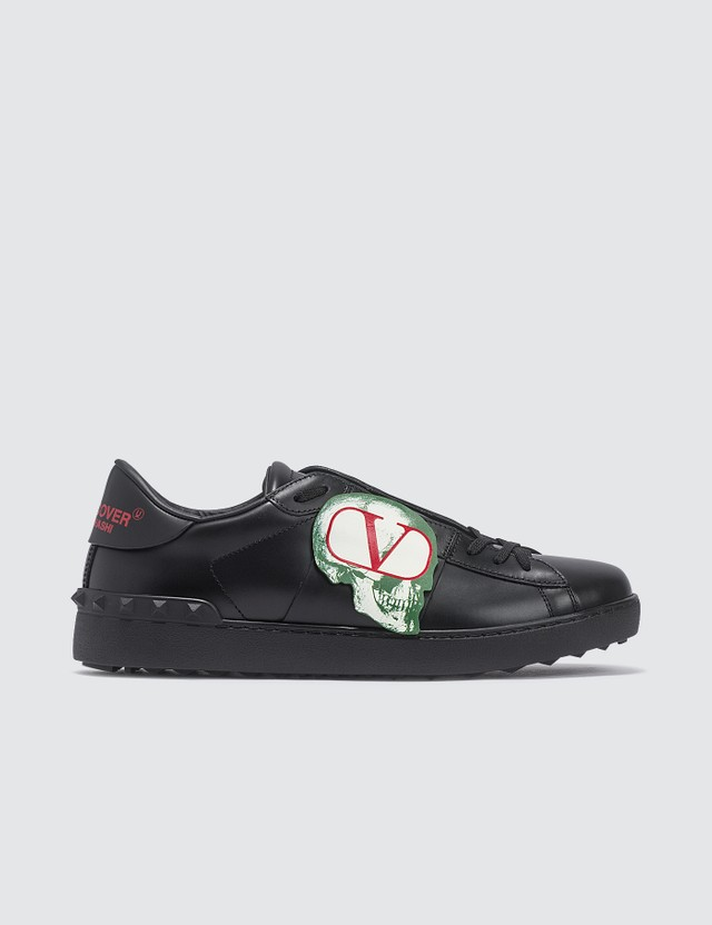 Valentino Valentino x Undercover Skull Logo Open Sneakers
