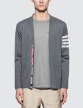 Thom Browne Classic V-neck Cardigan Picture