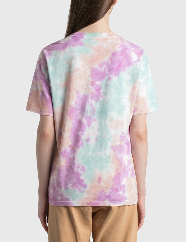 Nike Pastel Tie Dye T-Shirt White/football Grey/light Dew/white Women