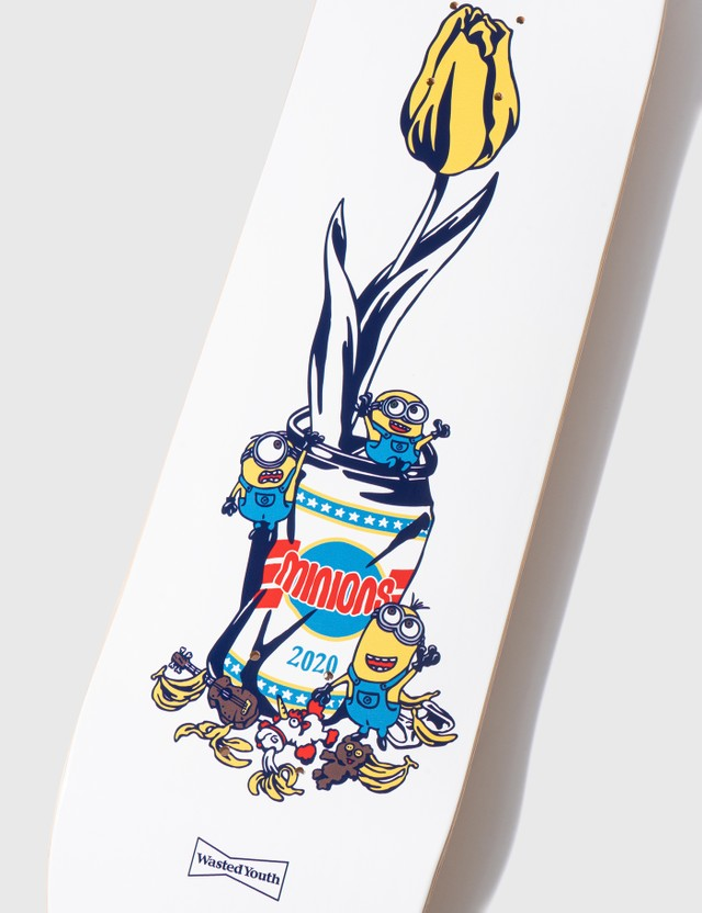 Verdy x Minions Minions x Wasted Youth Skateboard Deck
