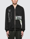 3.1 Phillip Lim Zip Front Hoodie With Grocery Print Picture