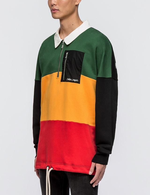 596aac657d5 Palm Angels - Rastafari Polo Sweatshirt | HBX