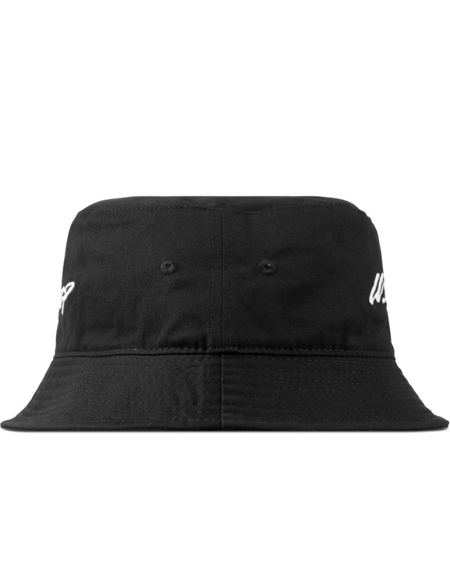 0fcf9c3d9b8 10.Deep - Black Handscript Bucket Hat