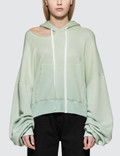 Unravel Project Terry Hoodie Cut Chopped Hoodie Picture