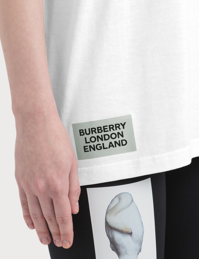Burberry Montage Print Cotton Oversized T-shirt