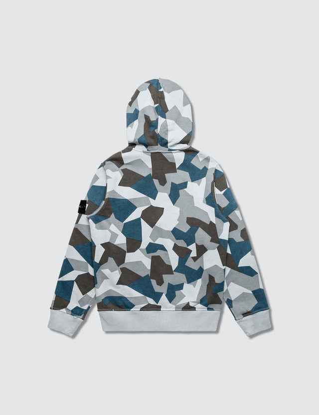 Stone Island Camo Full Zip Hoodie (Infant)