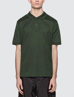 Bottega Veneta Basic Logo Polo Shirt